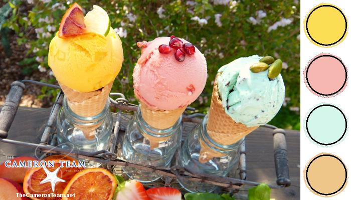 Ice Cream Color Palette