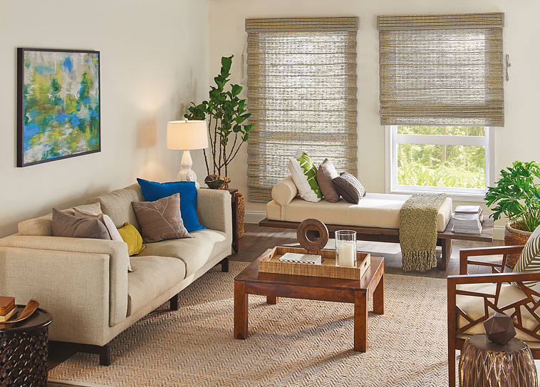 Woven Wood Blinds - Budget Blinds of Wilmington