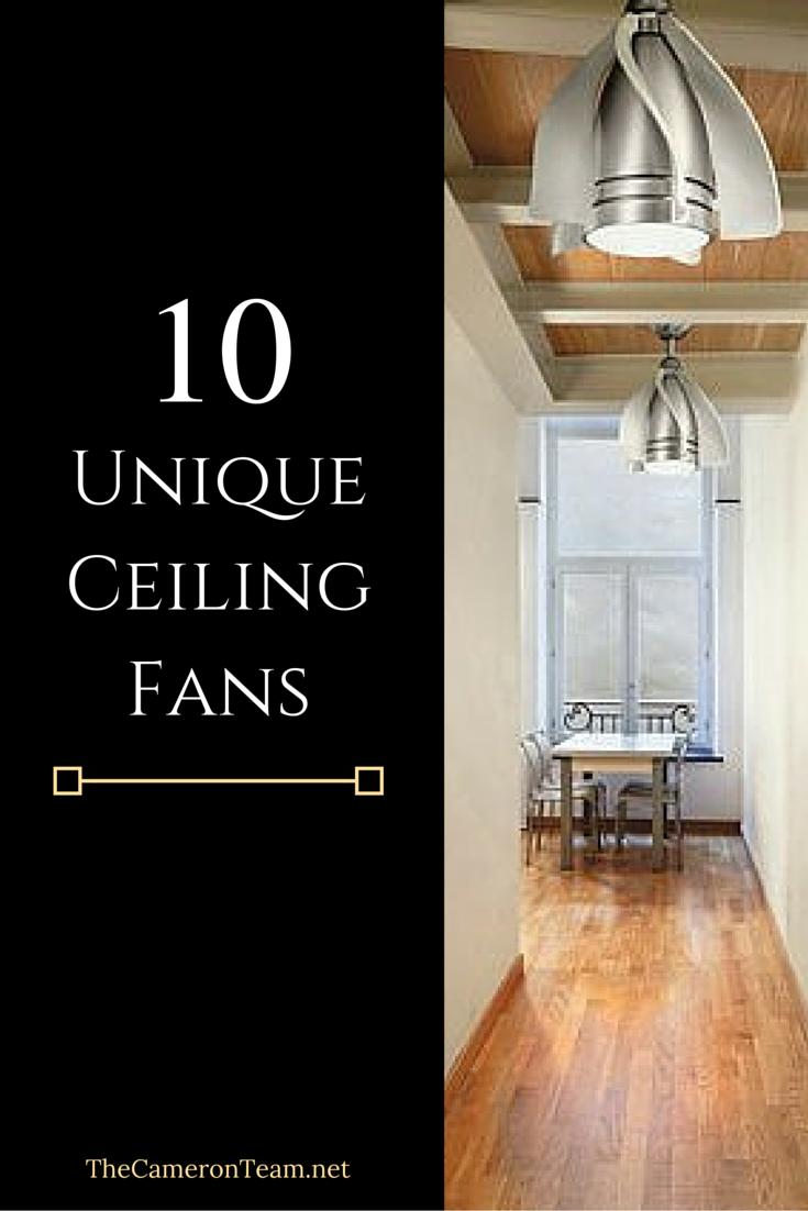 unique ceiling fans single blade 10 unique ceiling fans for your home the cameron team