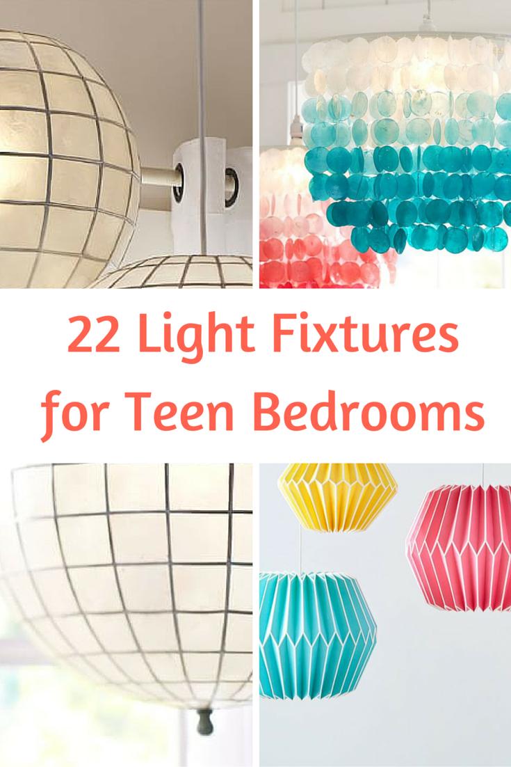 11 Light Fixtures for Teen Bedrooms  The Cameron Team
