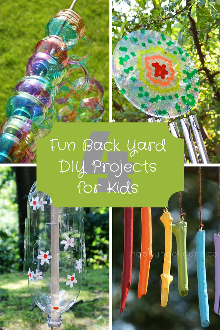 4 Fun Back Yard Diy Projects For Kids The Cameron Team