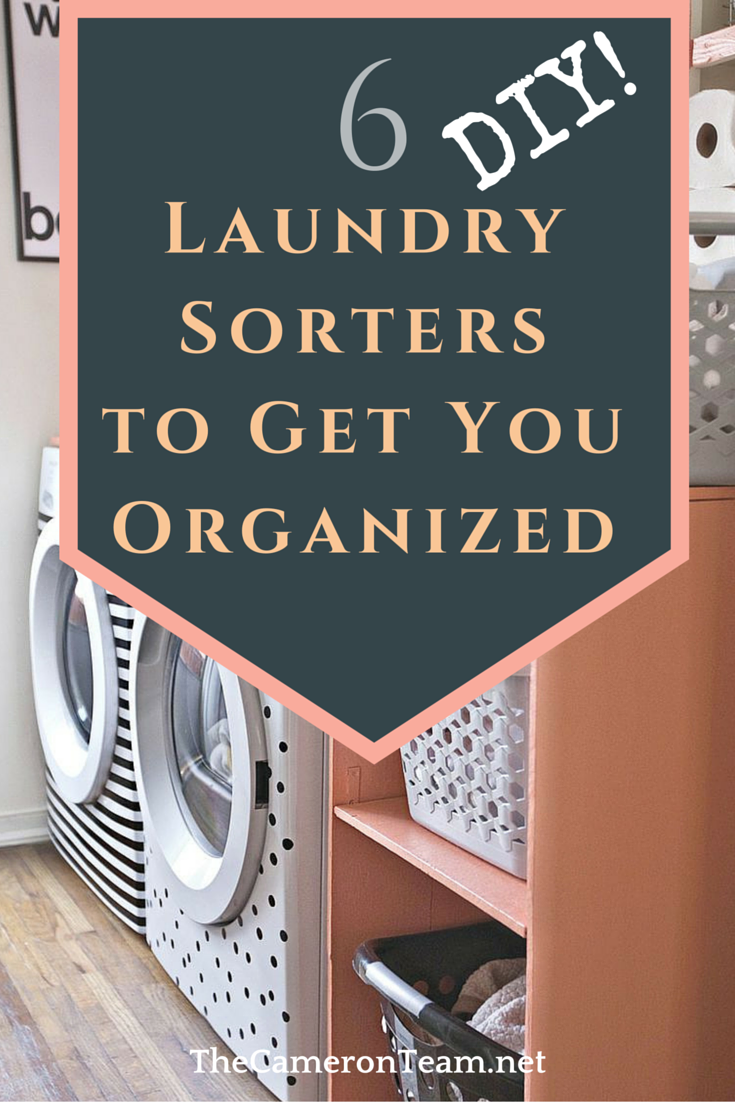 6 DIY Laundry Sorters to Get You Organized