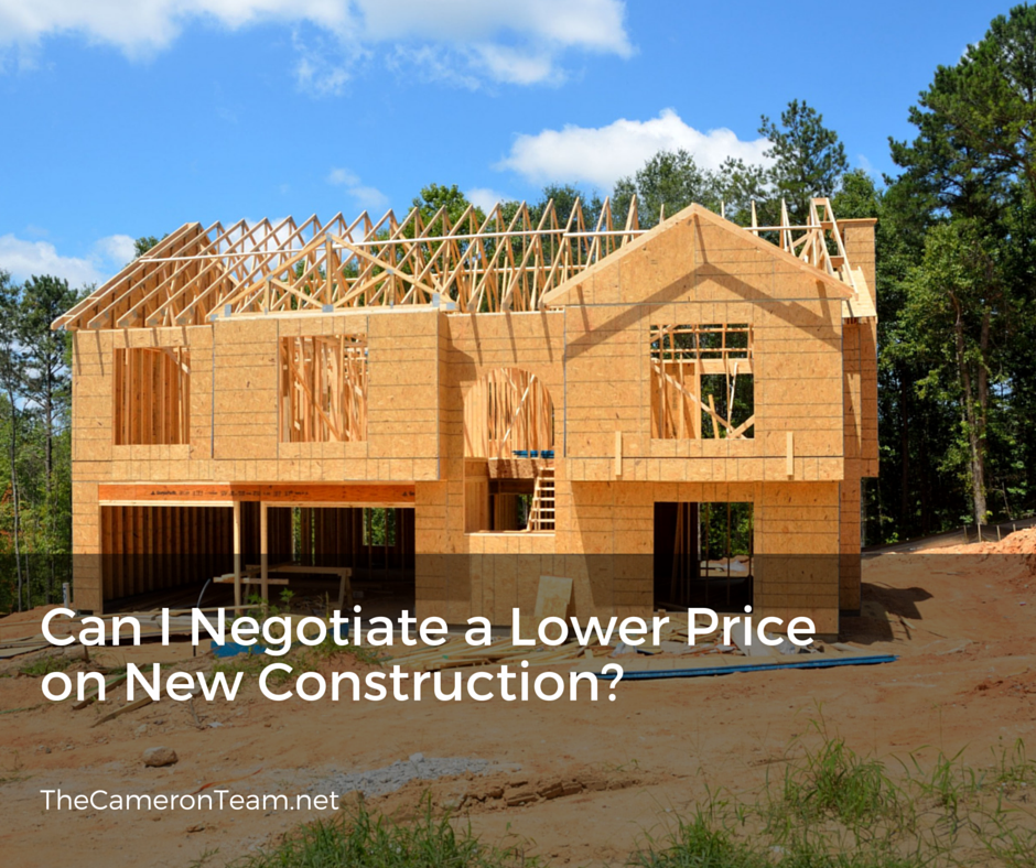 Can You Negotiate With New Construction Homes
