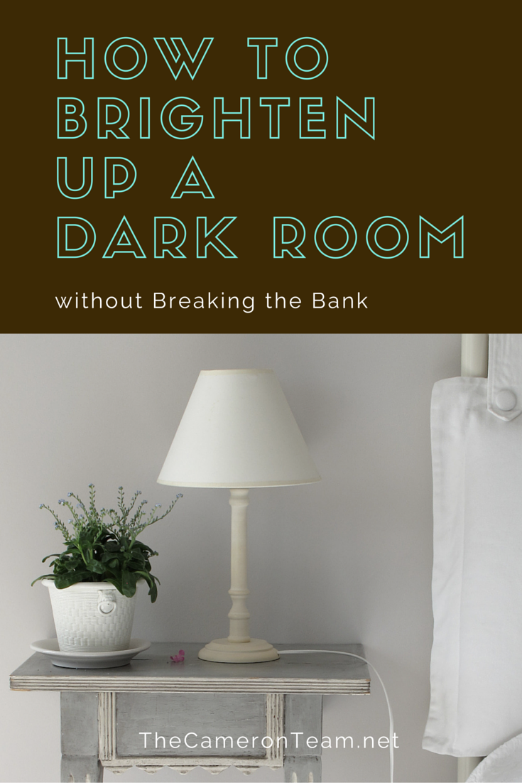 How to brighten up a dark room without breaking the bank the cameron team