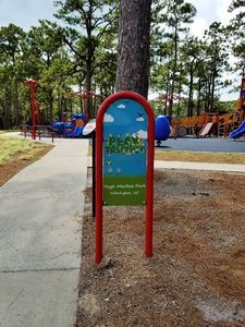 Hugh MacRae Park - Playground Sign