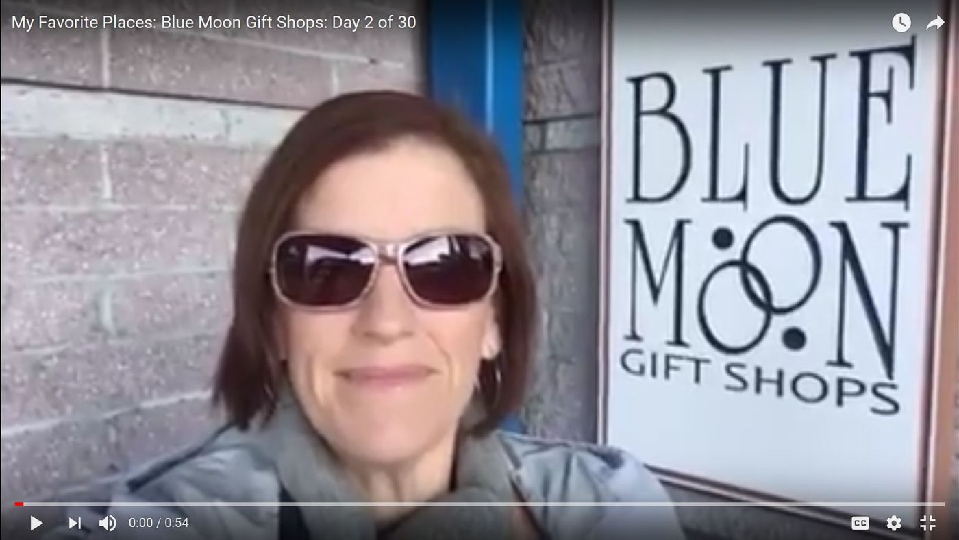 My Favorite Places: Blue Moon Gift Shops: Day 2 of 30