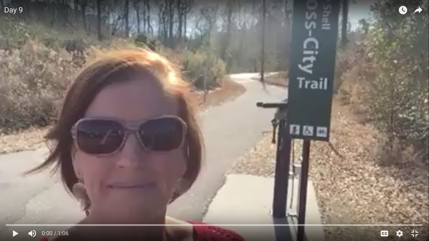 My Favorite Places: Gary Shell Cross-City Trail