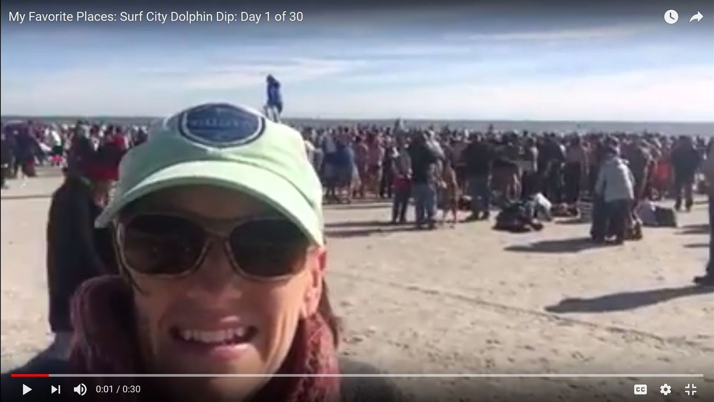 My Favorite Places: Surf City Dolphin Dip: Day 1 of 30