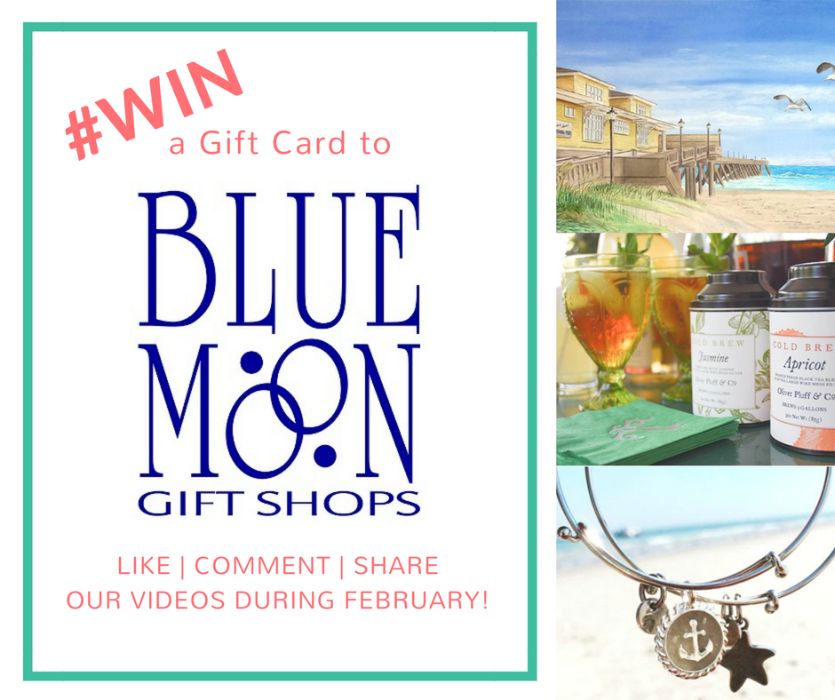 Win a Gift Card to Blue Moon Gift Shops