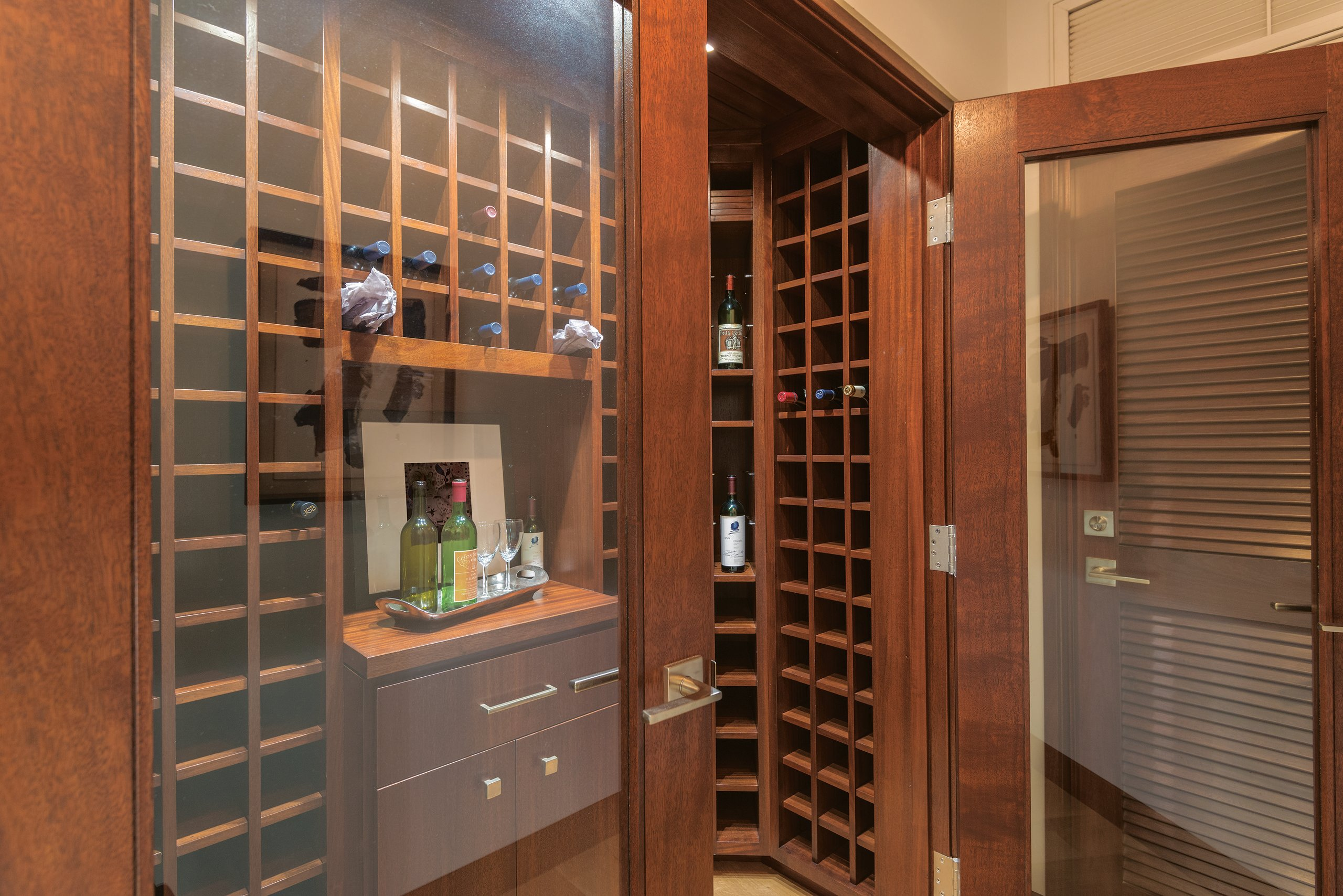 Coldwell Banker Global Luxury Wine Cellar
