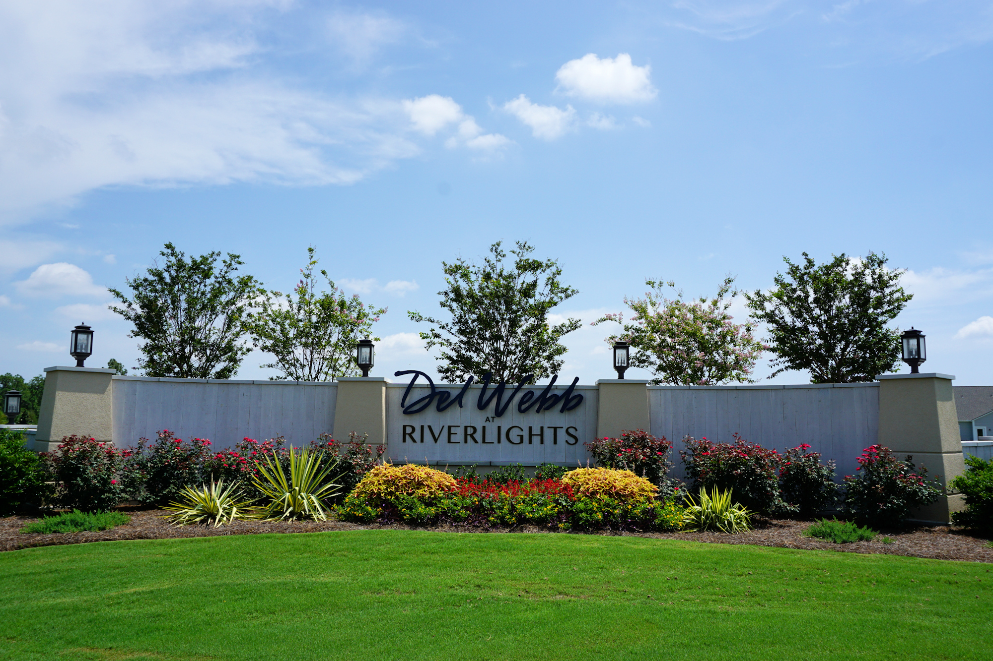 Del Webb of Wilmington - Entrance Sign
