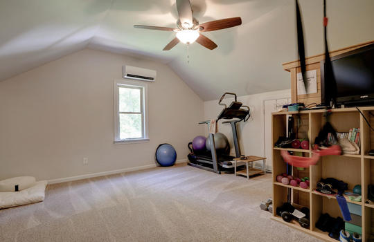 Bonus Room, Den, Workout Room