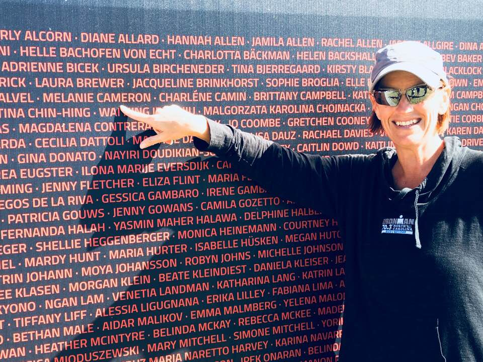 Melanie Cameron Points to Her Name at Ironman World Championship in South Africa