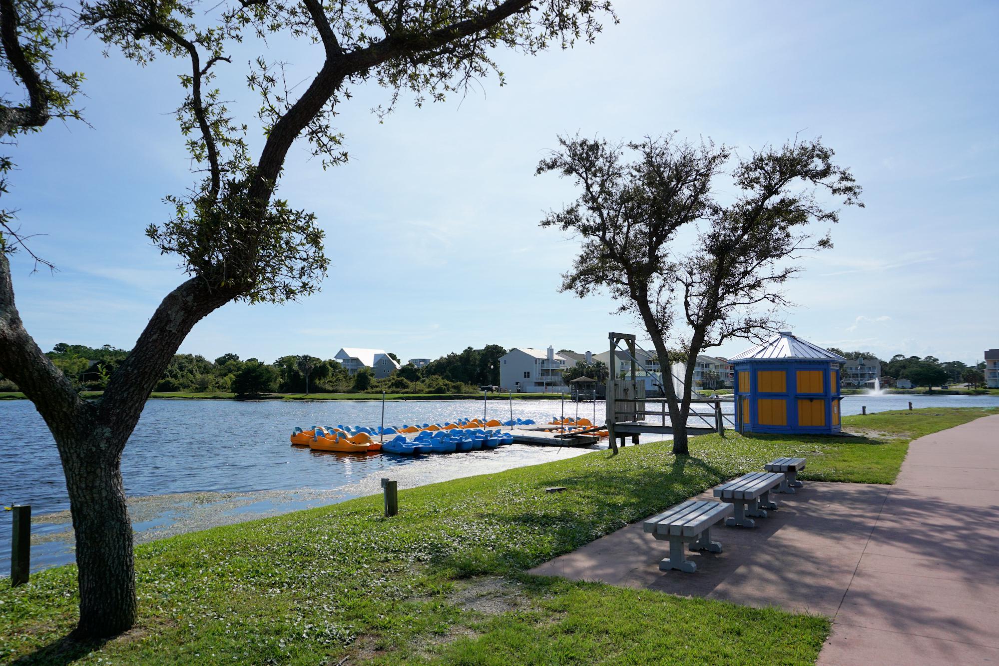 Pedal Boats/Paddle Boats