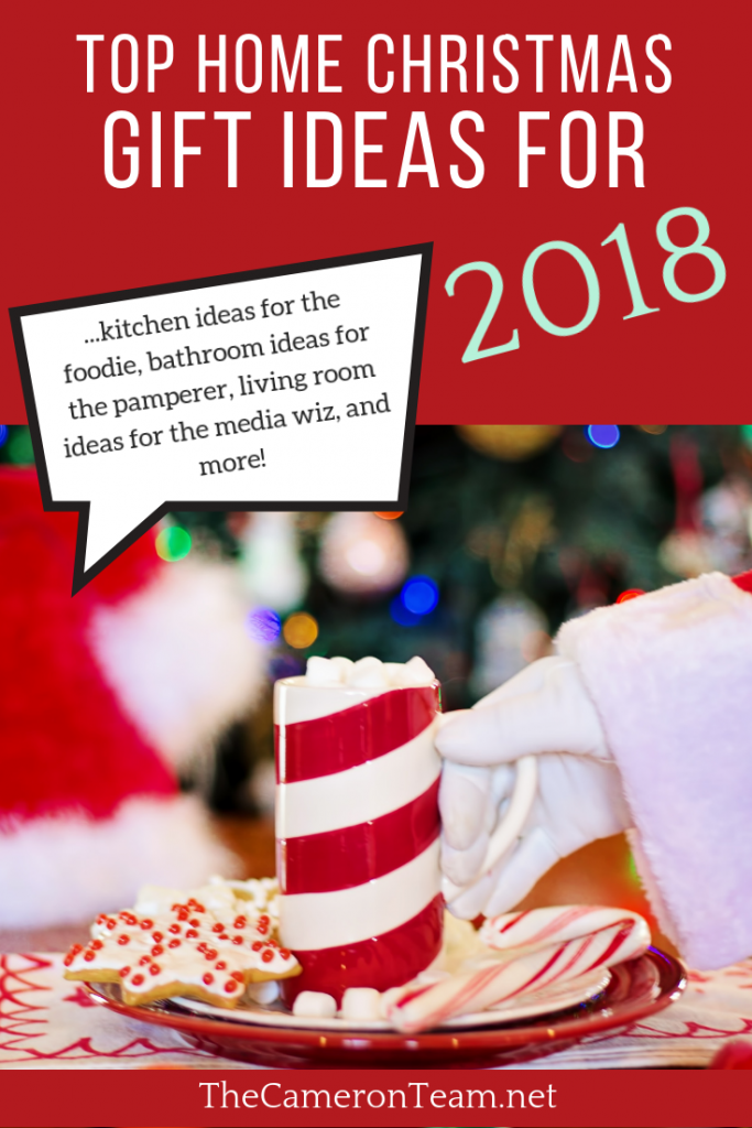 Top Home Christmas Gift Ideas for 2018