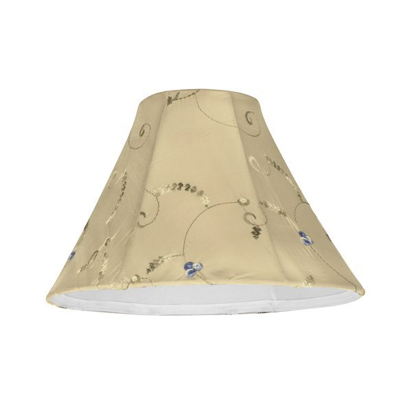 Aspen Creative Corporation - 10 inch Silk Bell Lamp Shade