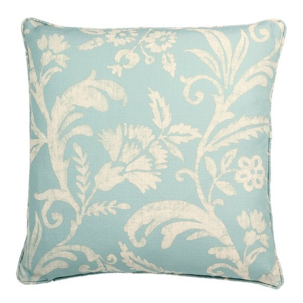 Bay Isle Home - Provincetown Floral Pattern Printed Throw Pillow