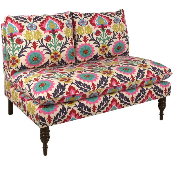 Bungalow Rose - Helotes Multi Colored Loveseat