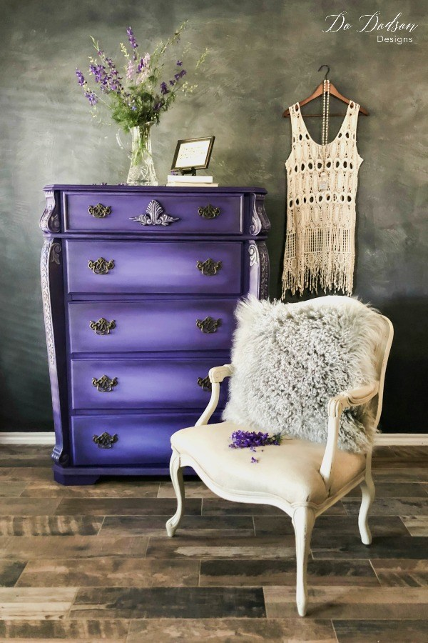 Do Dodson Designs - Amethyst Purple Dresser