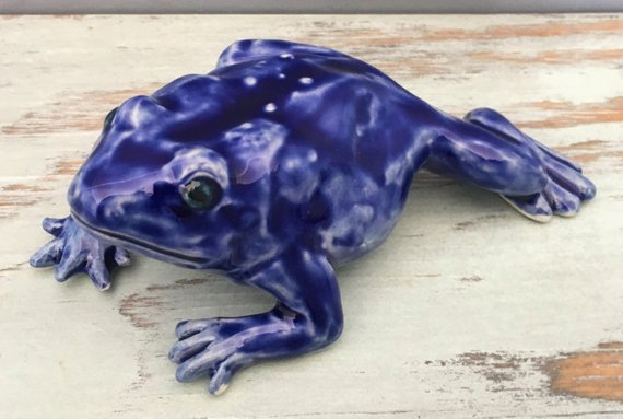 SophisticatedMud - Jewel Tone Frog