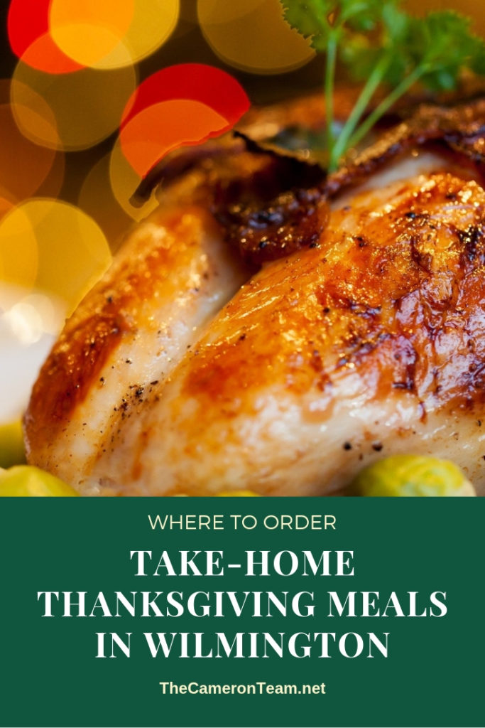 Where to Order Take-Home Thanksgiving Meals in Wilmington