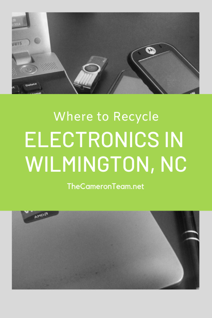 Where to Recycle Your Electronics in WIlmington NC