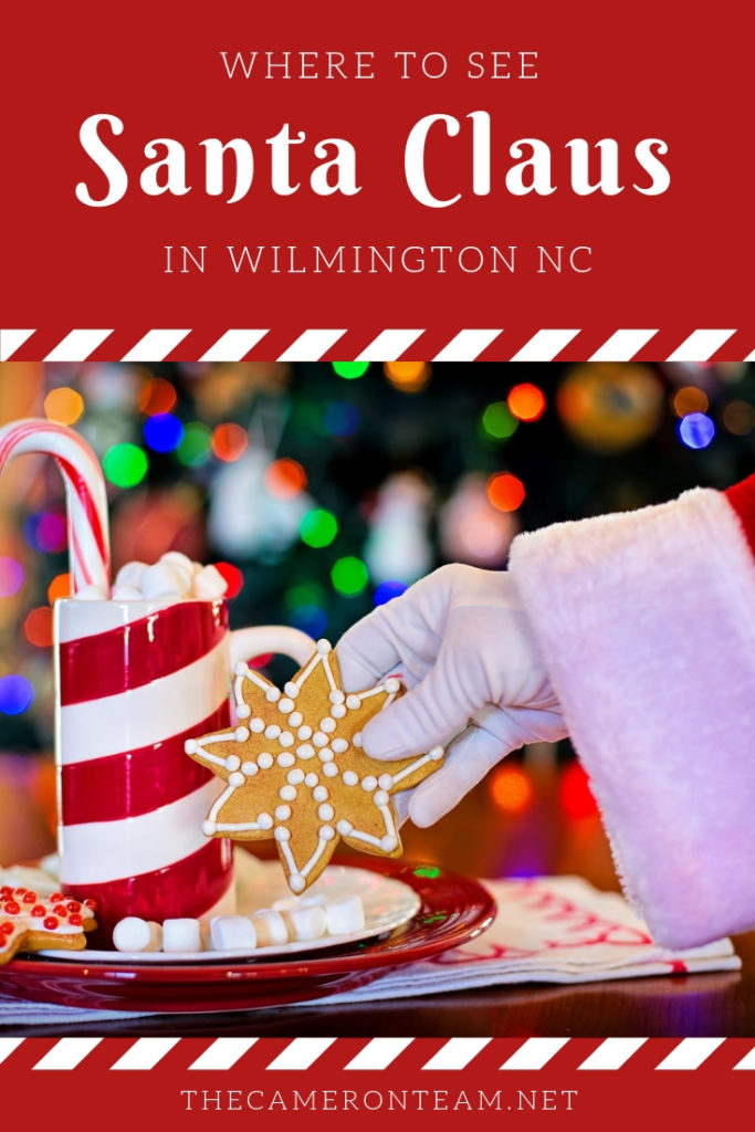 Where to See Santa Claus in Wilmington NC