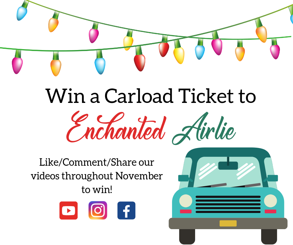 Win a Carload Ticket to Enchanted Airlie