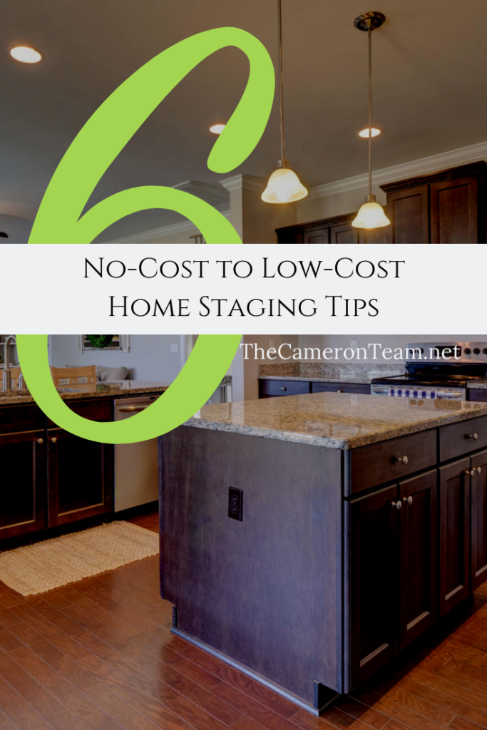 6 No-Cost to Low-Cost Home Staging Tips