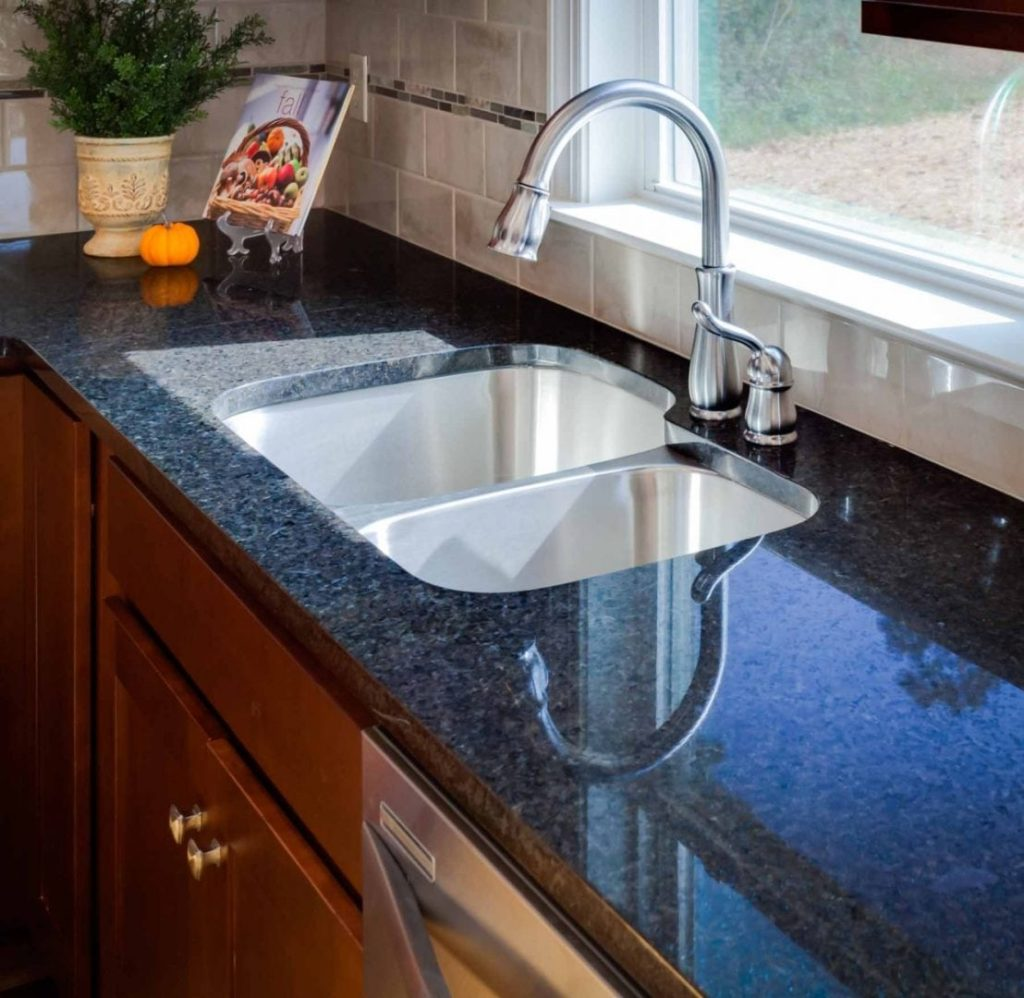 Amanzi Granite - Dark Granite Kitchen Countertop