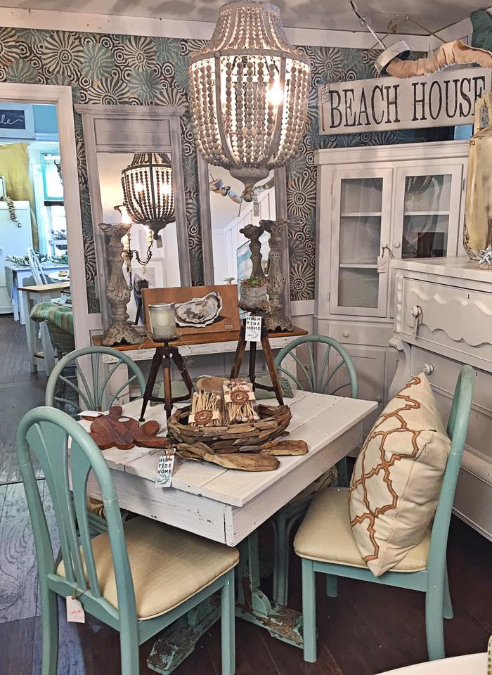 High Tide Home - Shabby Chic Dining Room Set
