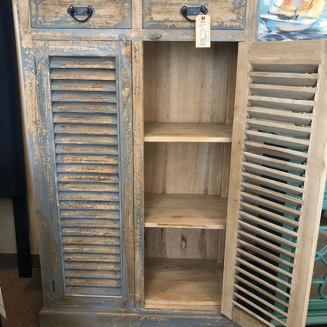 Home Again - Distressed Cabinet