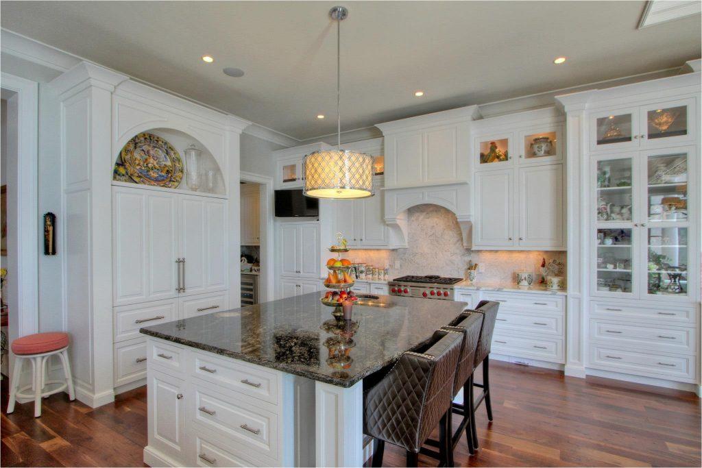 Kitchen Man - Dark Granite Island