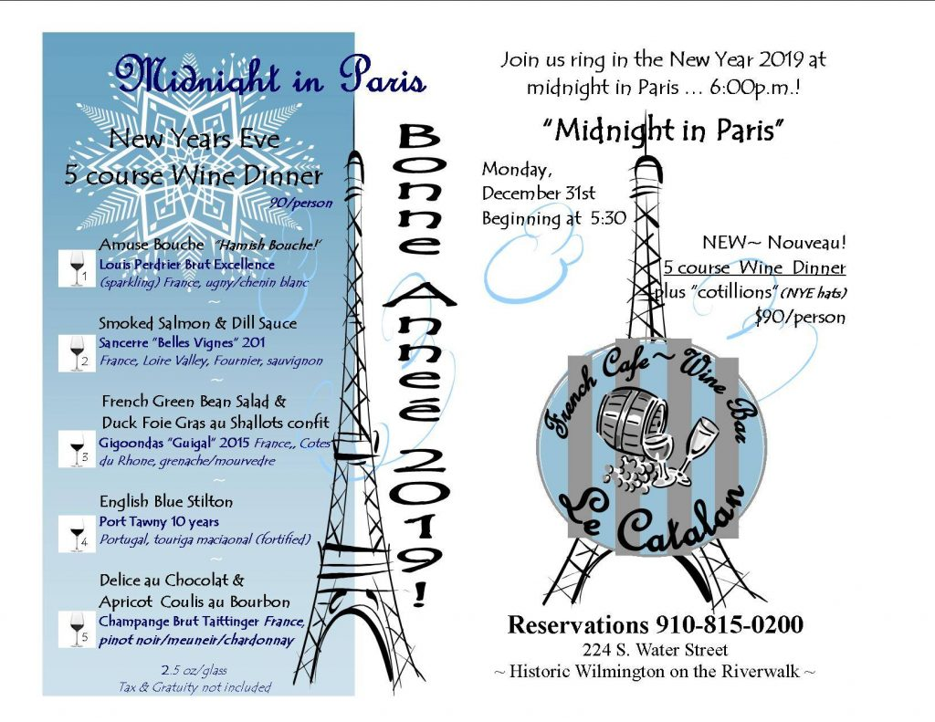 Midnight in Paris: A New Year's Eve Celebration
