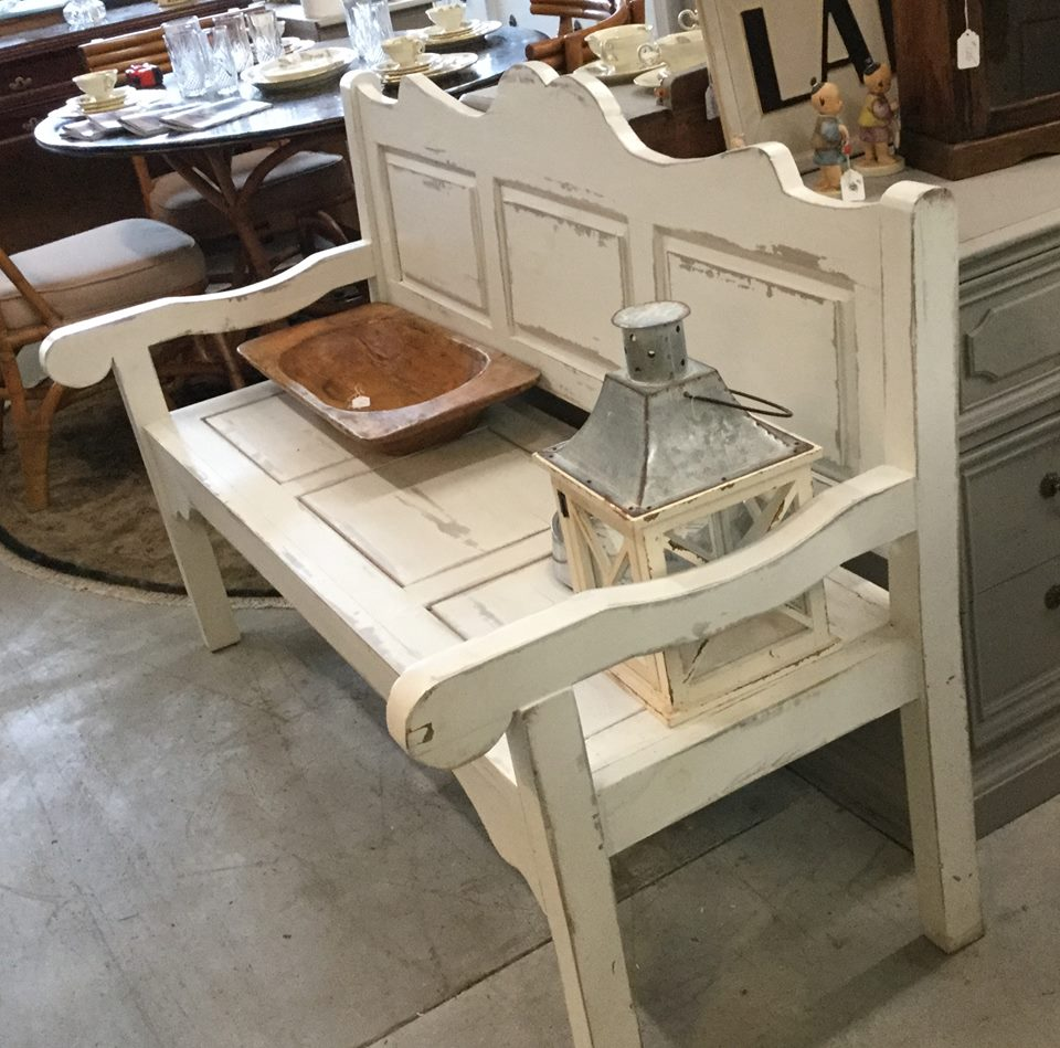 NC Furniture Wholesalers - Shabby Chic Bench