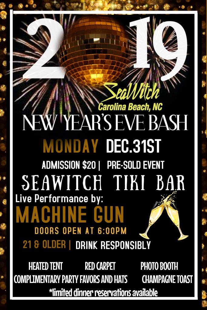 New Year's Eve Bash featuring Machine Gun