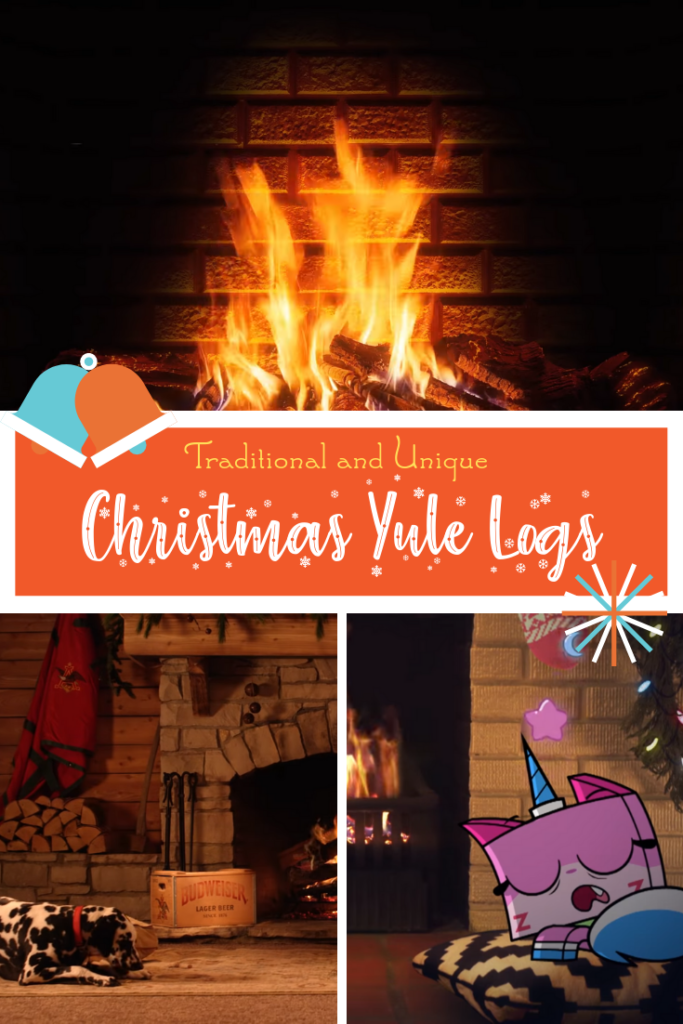 Traditional and Unique Christmas Yule Log Videos