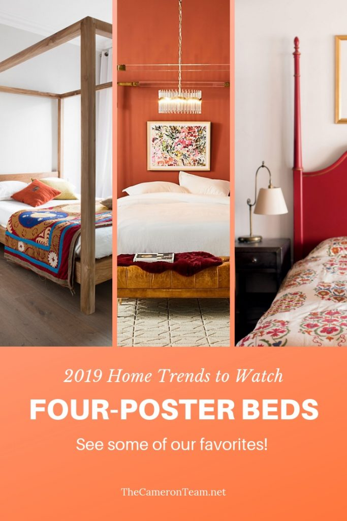 2019 Home Trends to Watch - Four-Poster Beds