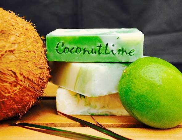 Carolina Shores Natural Soap - Coconut Lime Verbena Bar Soap