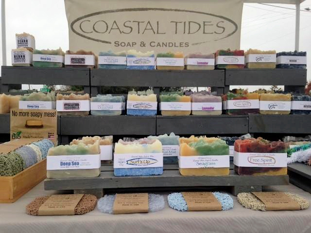 Coastal Tides Soap & Candles - Natural Soap