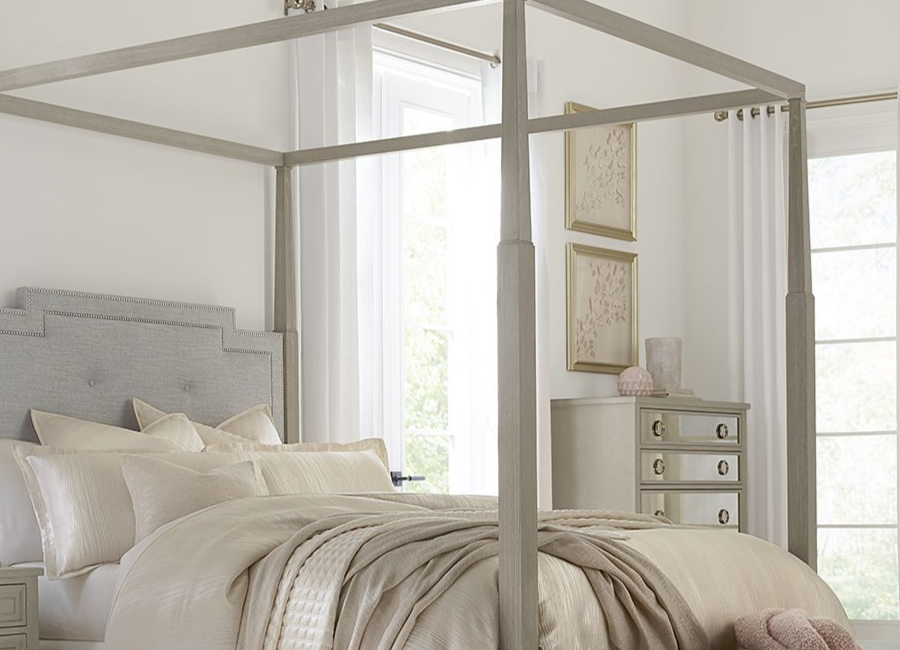 Haverty's - Hyde Park Canopy Bed