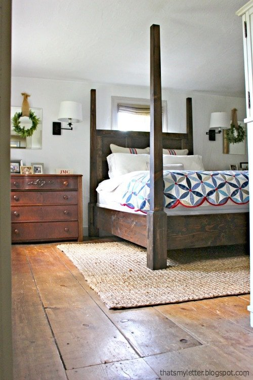 Jaime Costiglio - DIY Four-Poster Bed