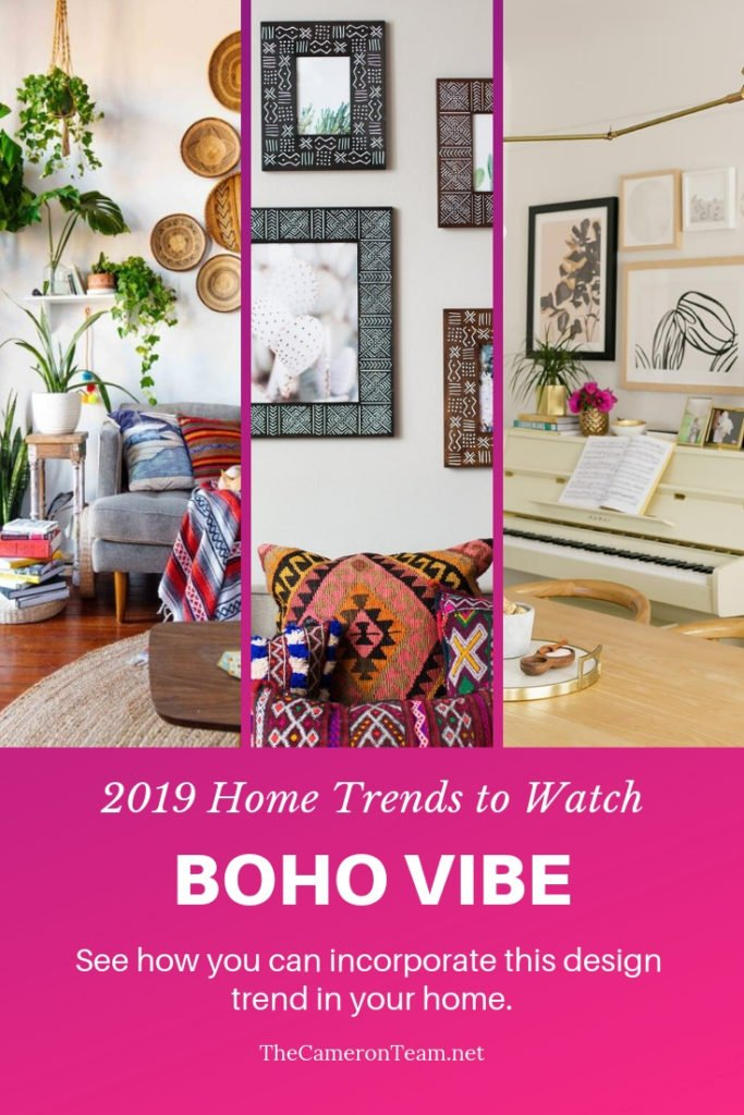 2019 Home Trends to Watch - Boho Vibe
