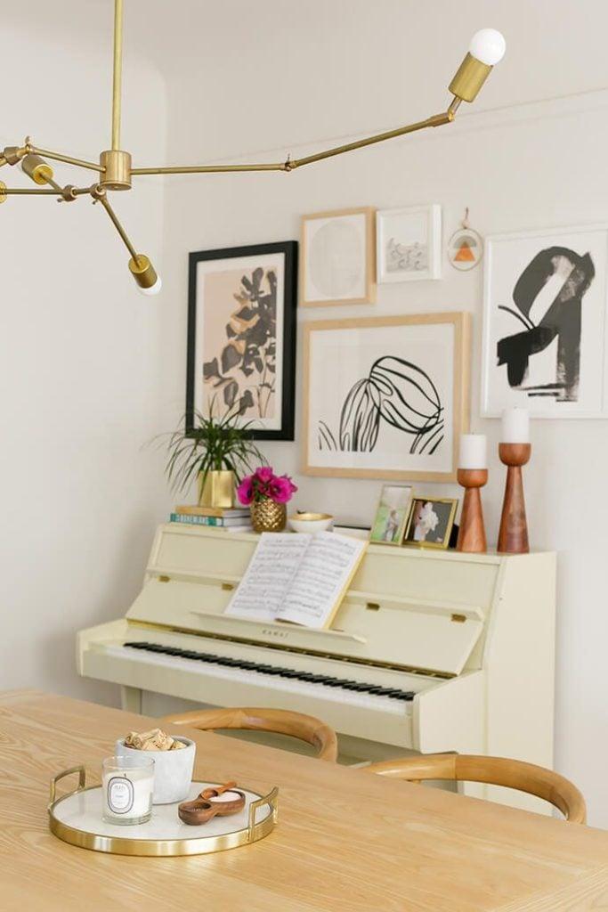 The Glitter Guide - Boho Dining Room