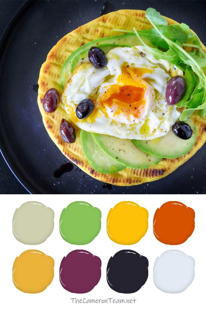 Arugula and Avocado Bread Color Palette - The Cameron Team