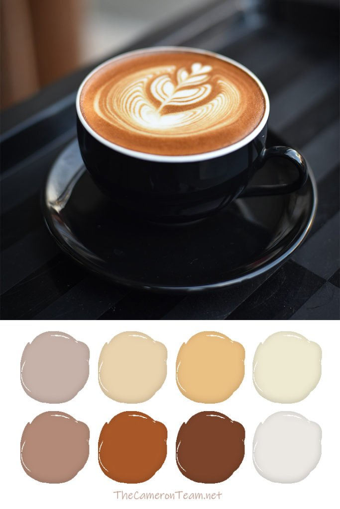 Coffee Paint Color Palette - The Cameron Team