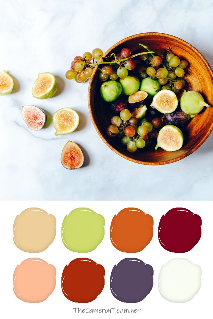 20 Color Palettes Inspired By Food The Cameron Team