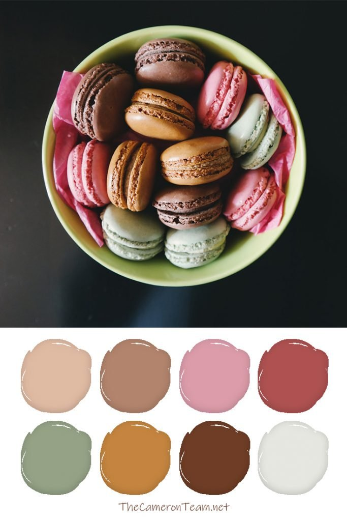 Macaron Paint Color Palette - The Cameron Team