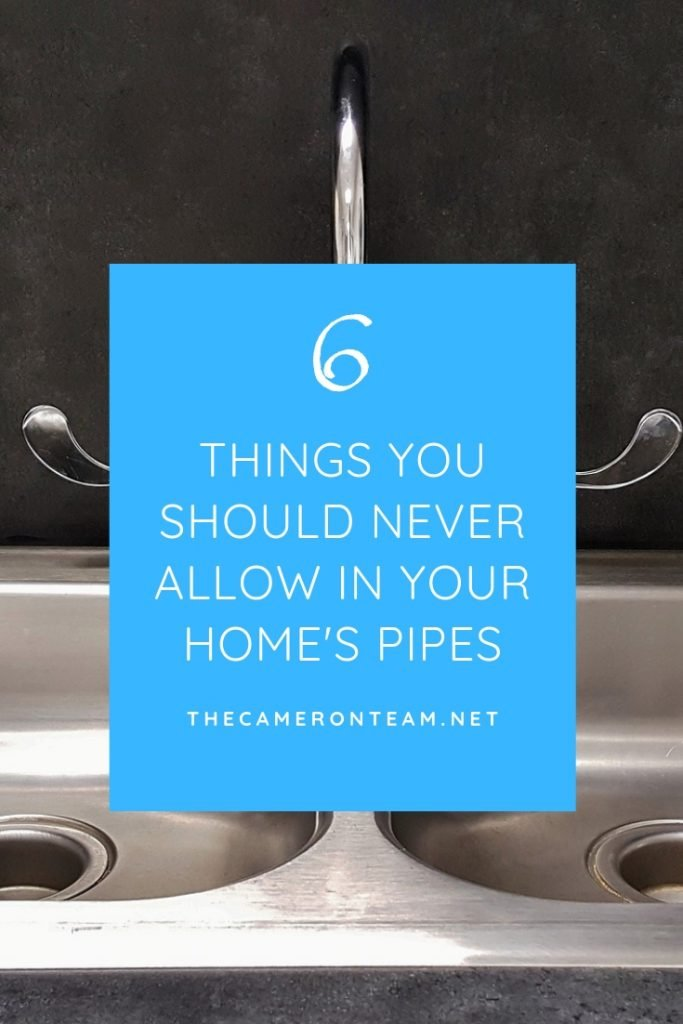 6 Things You Should Never Allow In Your Home's Pipes