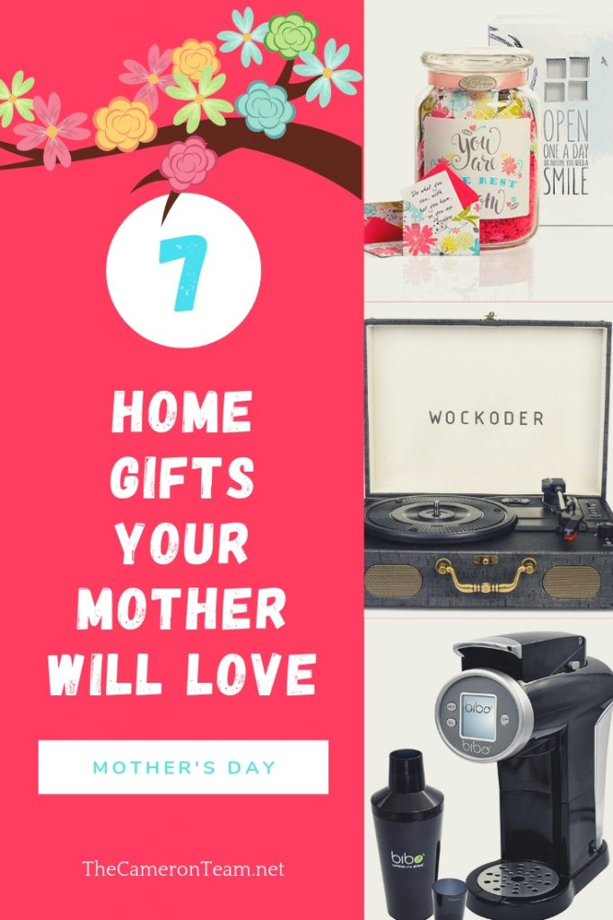 7 Home Gifts Your Mother will Love